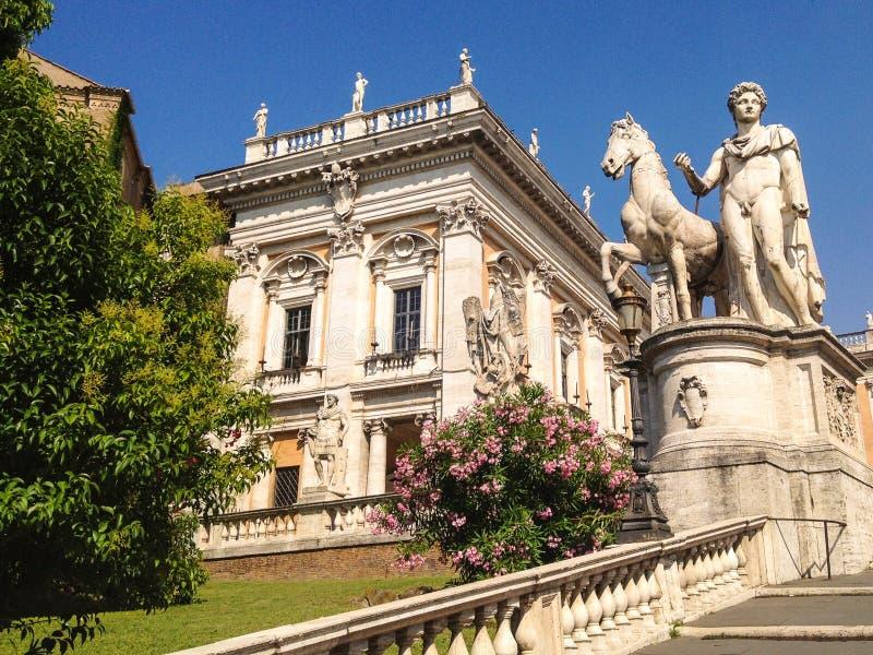Construção em Roma imagens de stock