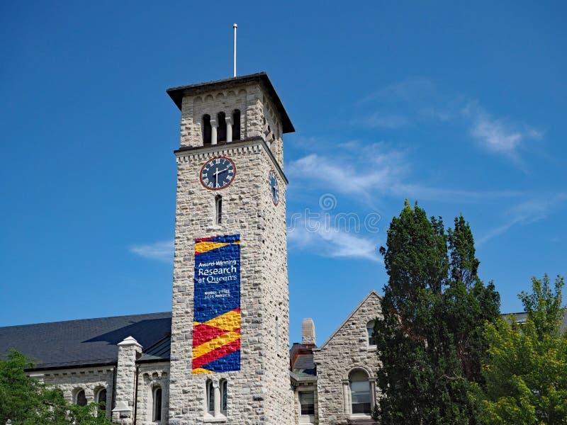 Construção gótico canadense da faculdade foto de stock royalty free
