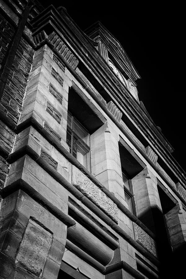 Construção Glasgow novo da herança foto de stock royalty free