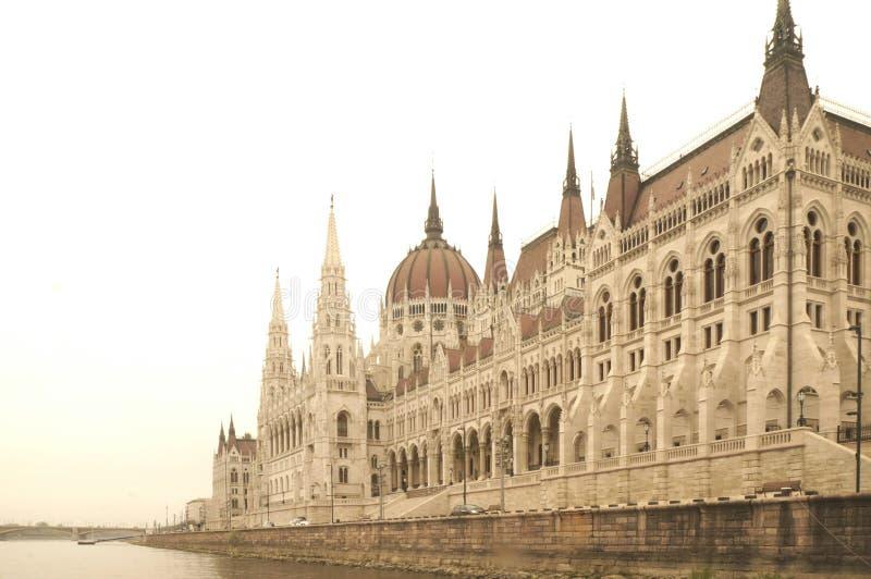 Construção húngara do parlamento foto de stock royalty free