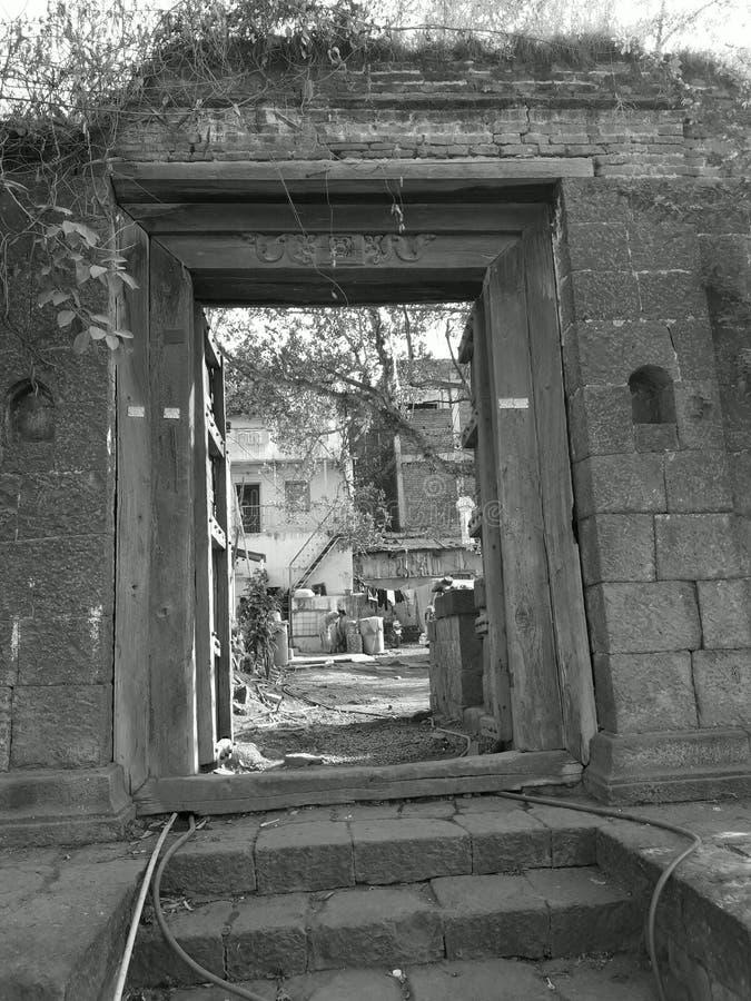 Construção histórica foto de stock
