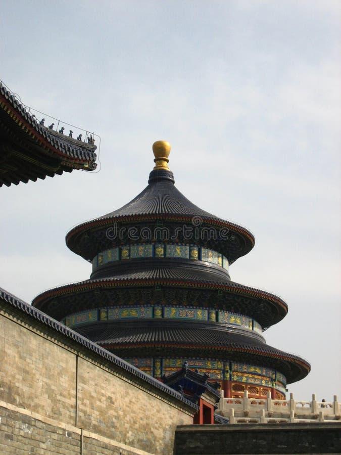 Construção histórica chinesa fotografia de stock