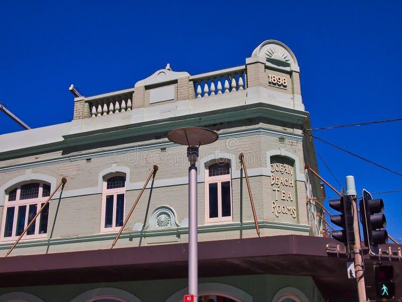 Construção histórica de 1898 anúncios publicitários, viril, Sydney, Austrália fotos de stock