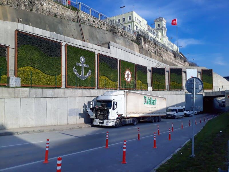 Construção histórica turca do hospital imagens de stock royalty free