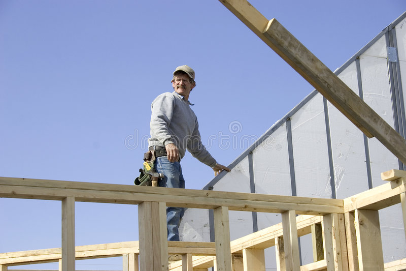 Construção Home 1 foto de stock