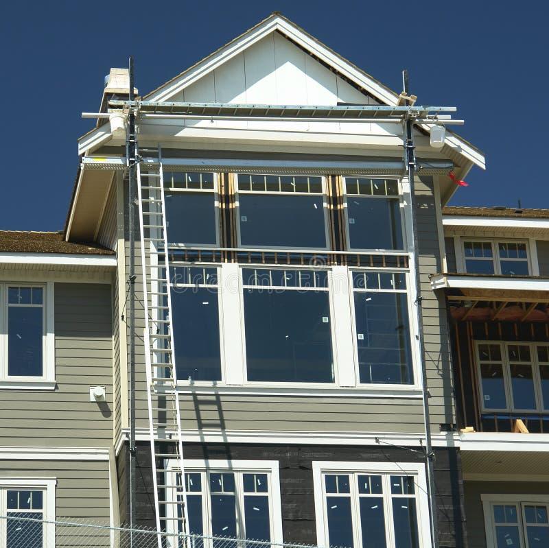 Construção Home da casa imagens de stock