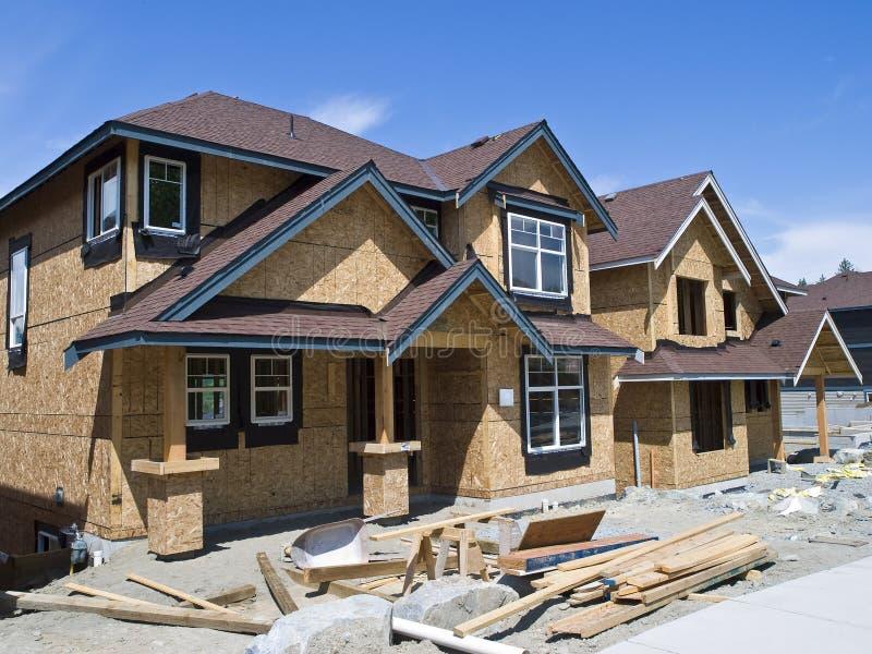 Construção Home nova imagens de stock royalty free