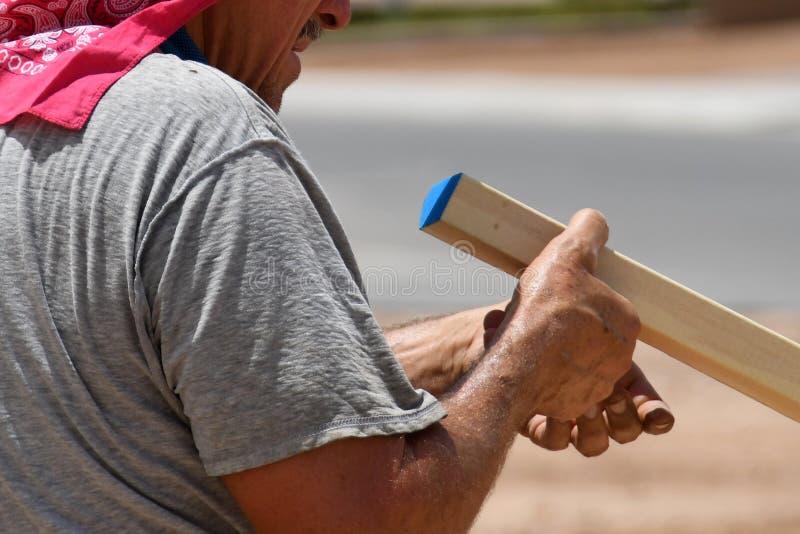 Construção home nova no sudoeste fotografia de stock royalty free