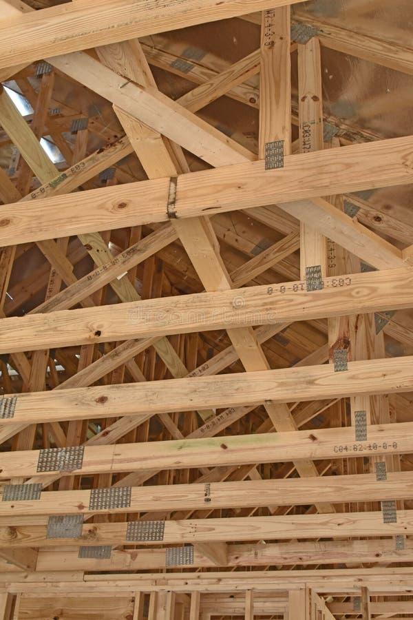 A construção home residencial é moldada foto de stock royalty free