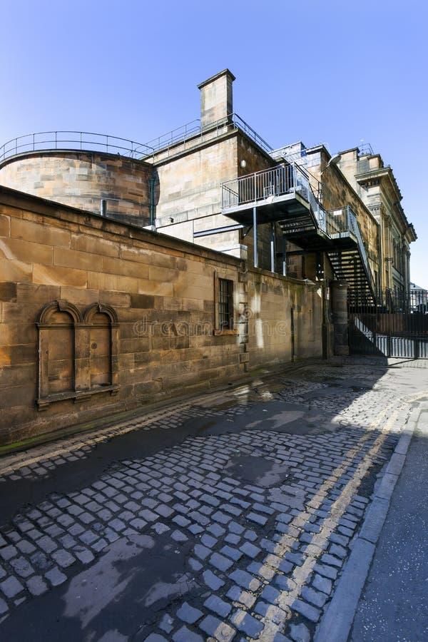 Construção industrial do vintage em Edimburgo foto de stock royalty free