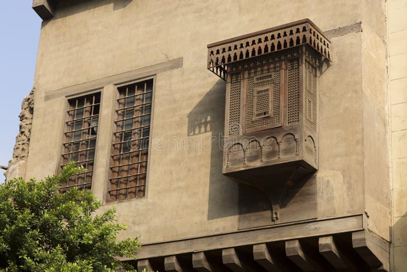 Construção islâmica árabe no Cairo Egito fotos de stock