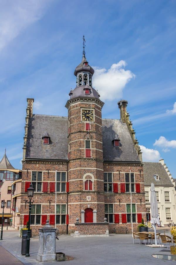 Construção medieval de het Petershuis do museu em Gennep foto de stock royalty free