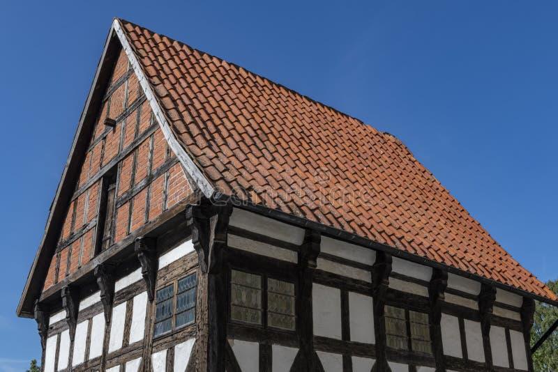 Construção medieval na cidade de Visby em Gotland, Suécia imagem de stock royalty free