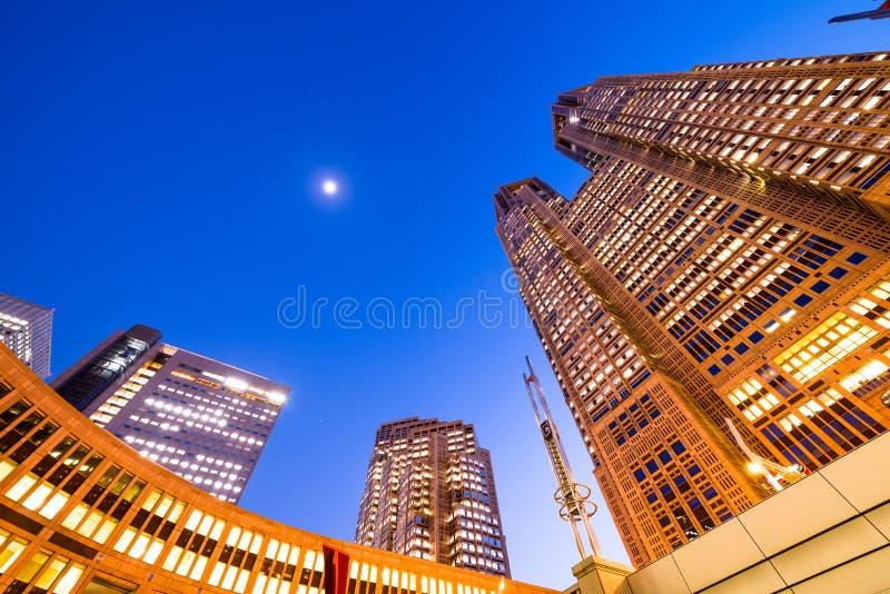 Construção metropolitana do governo do Tóquio imagem de stock royalty free