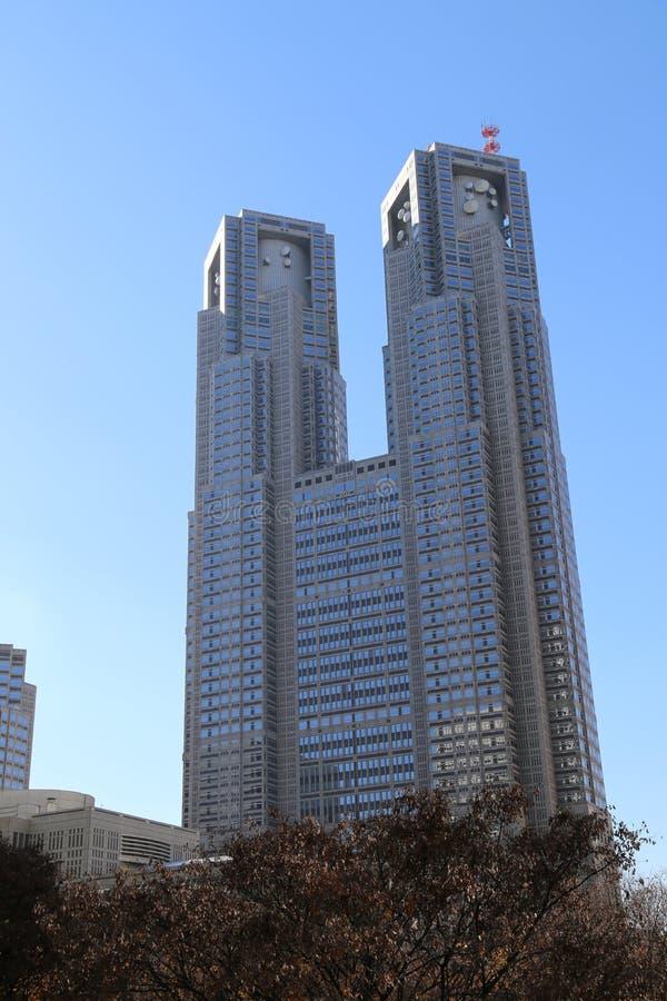 Construção metropolitana do governo do Tóquio fotos de stock