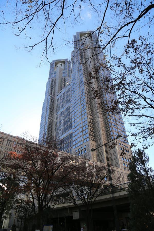 Construção metropolitana do governo do Tóquio fotografia de stock