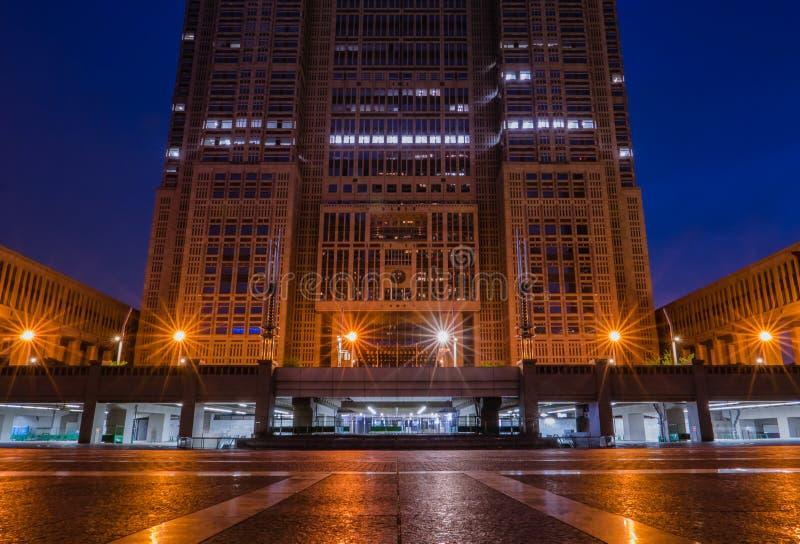 A construção metropolitana do governo do Tóquio imagem de stock royalty free
