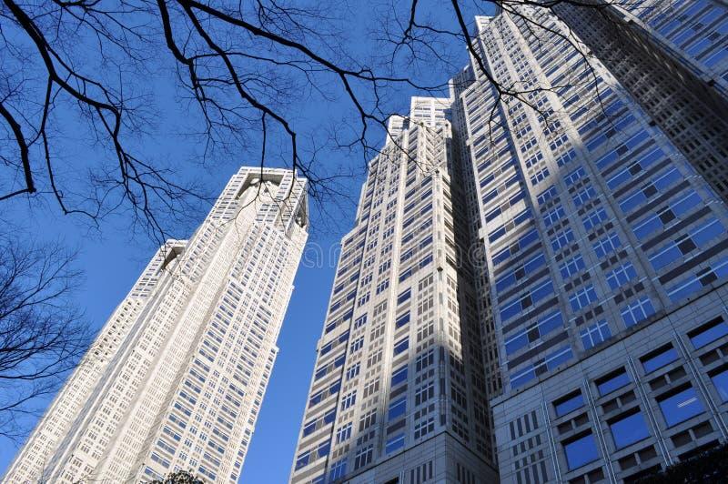Construção metropolitana do Tóquio imagem de stock royalty free