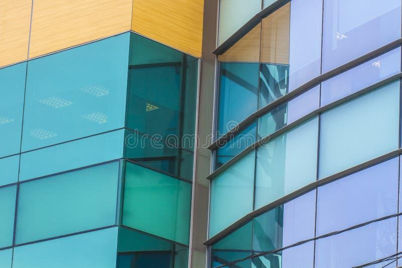 Construção moderna abstrata fotografia de stock royalty free