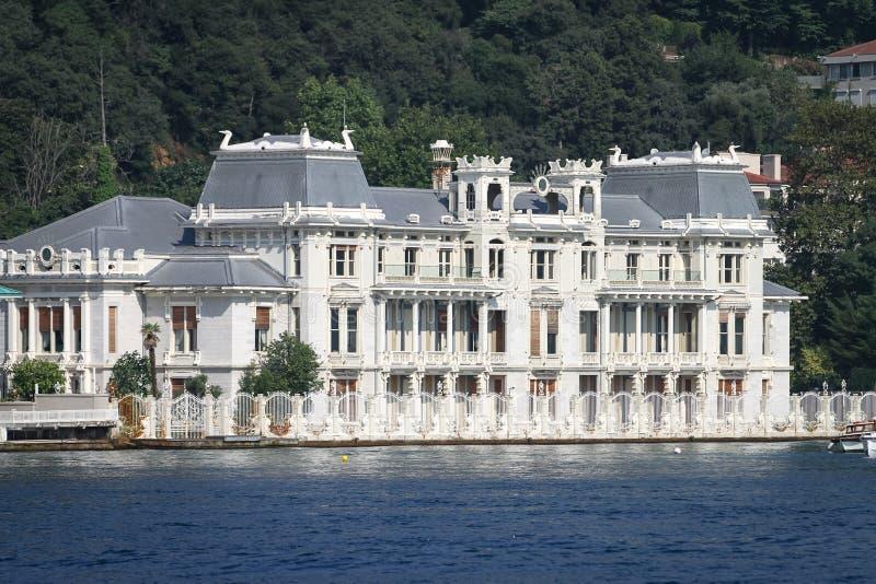 Construção na cidade de Istambul, Turquia imagem de stock