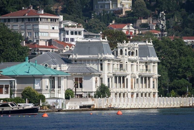 Construção na cidade de Istambul, Turquia imagens de stock