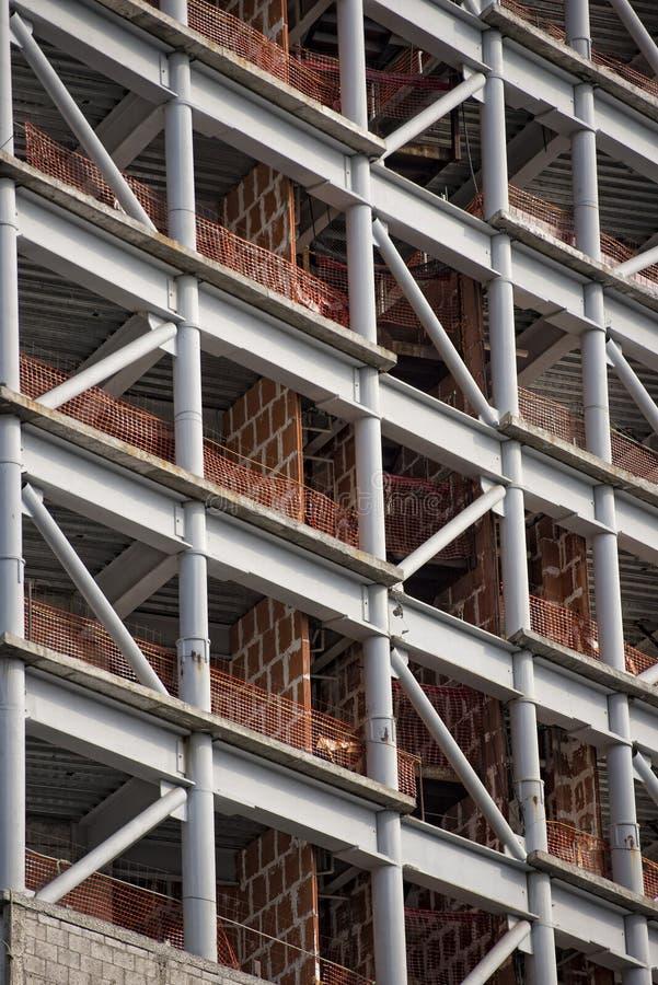 Construção na construção em Cidade do México imagem de stock
