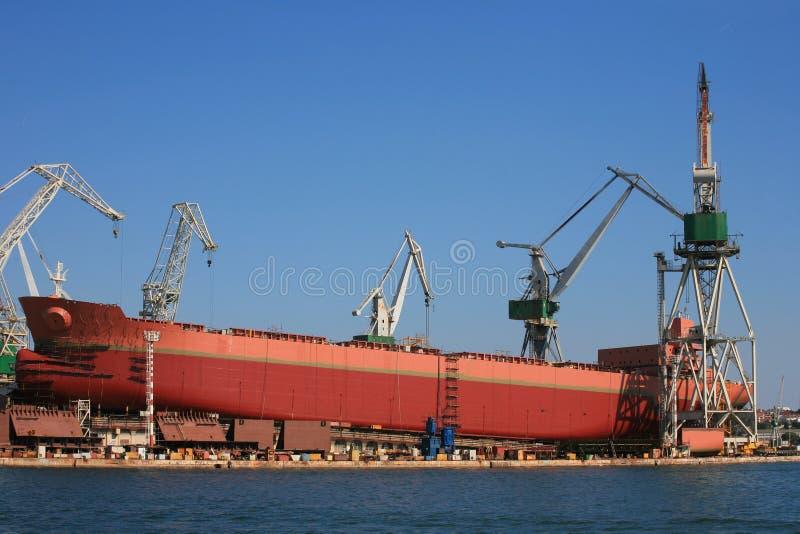 Construção naval imagem de stock royalty free