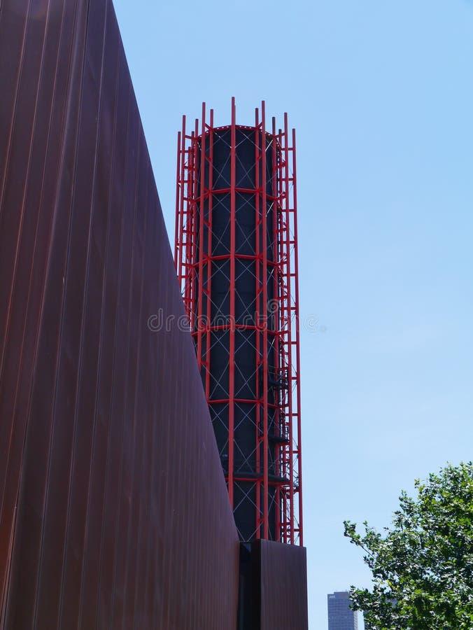 A construção real da exposição fotos de stock royalty free