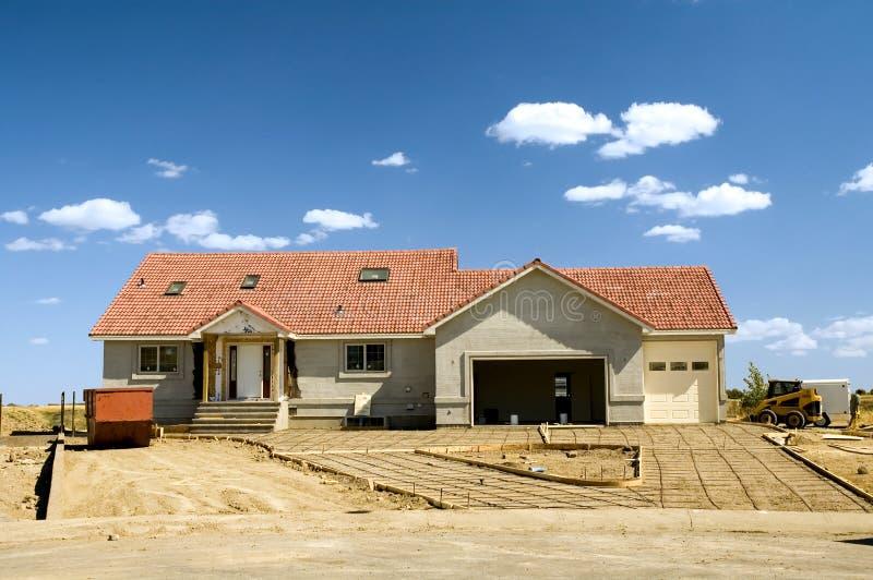 Construção residencial 2 foto de stock