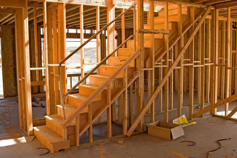 Construção residencial foto de stock