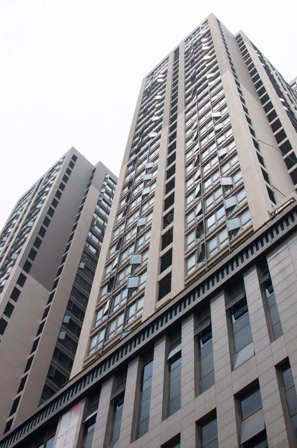 Construção residencial chinesa imagens de stock royalty free