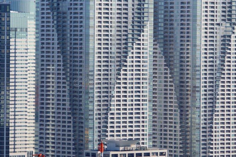 Construção residencial do alto densidade fotografia de stock