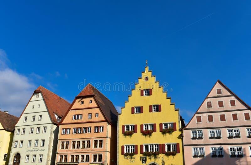Construção tradicional europeia fotografia de stock royalty free