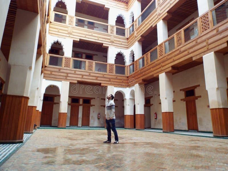 Construção tradicional Marrocos fotografia de stock royalty free