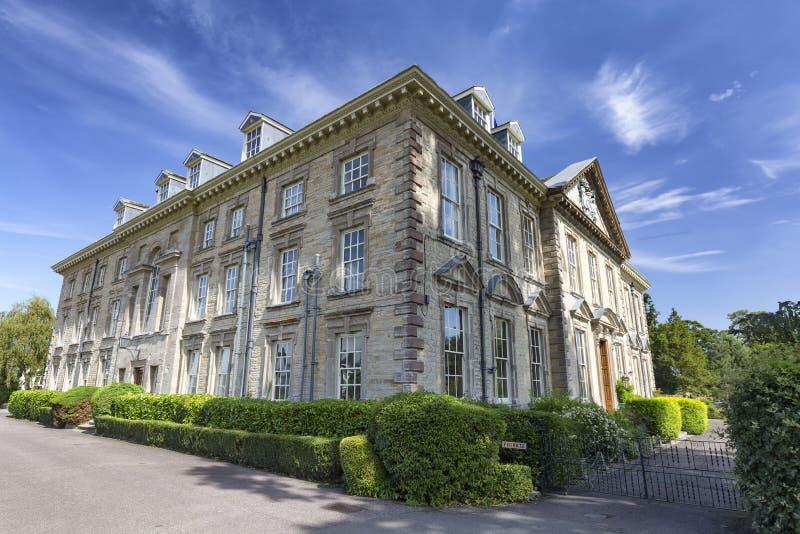 Construção velha bonita nas West Midlands imagem de stock royalty free