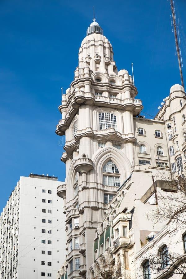 Construção velha histórica em Buenos Aires foto de stock