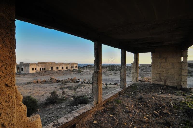 Construções Abandonadas Fotografia de Stock Royalty Free