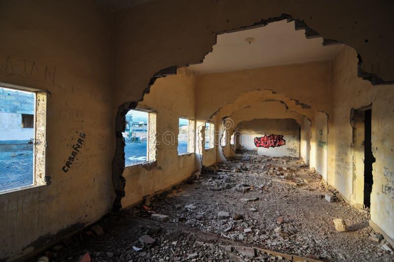Construções abandonadas imagens de stock royalty free