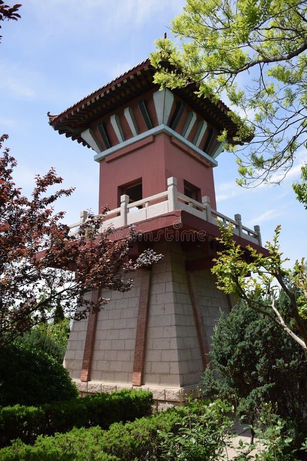 Construções antigas em China fotografia de stock