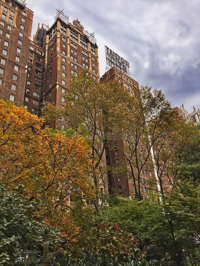 Construções clássicas de New York fotos de stock royalty free