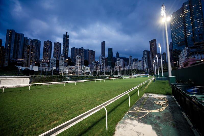 Construções da cidade de Hong Kong imagem de stock