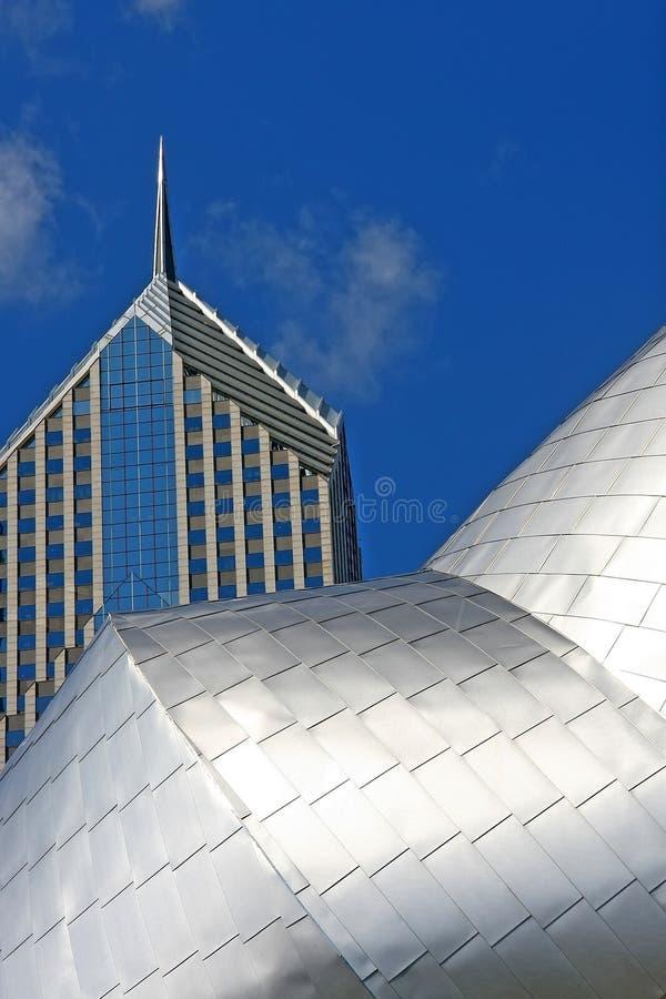 Construções de Chicago fotos de stock royalty free