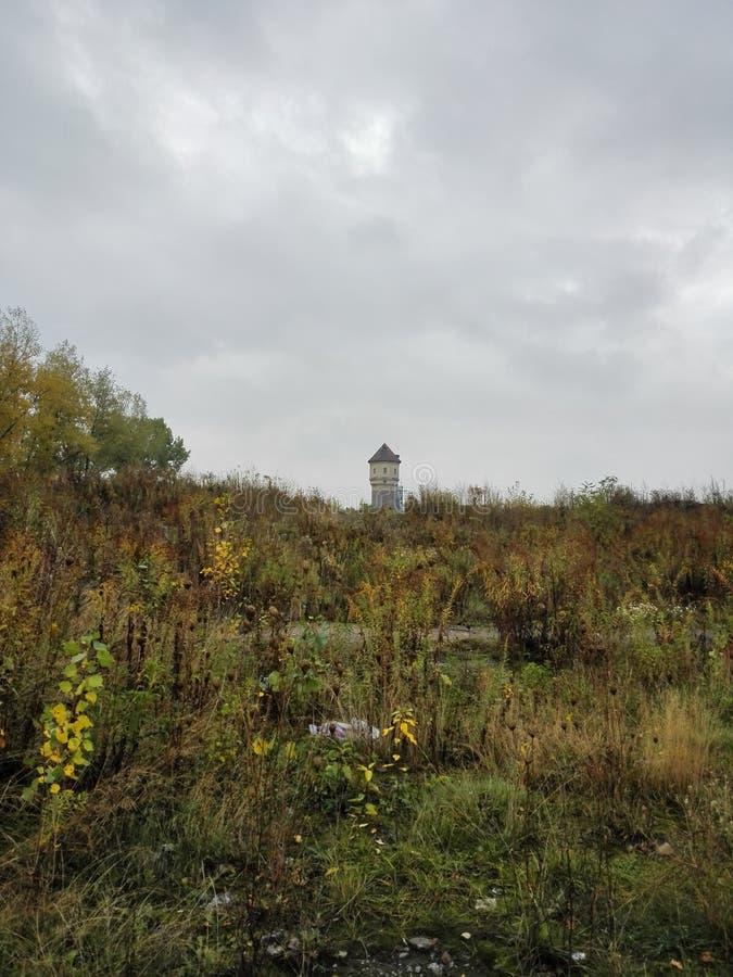 Construções de Ghost no Polônia imagens de stock royalty free