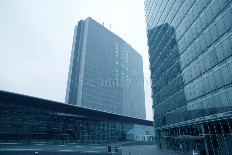 Construções de instituições europeias fotografia de stock royalty free