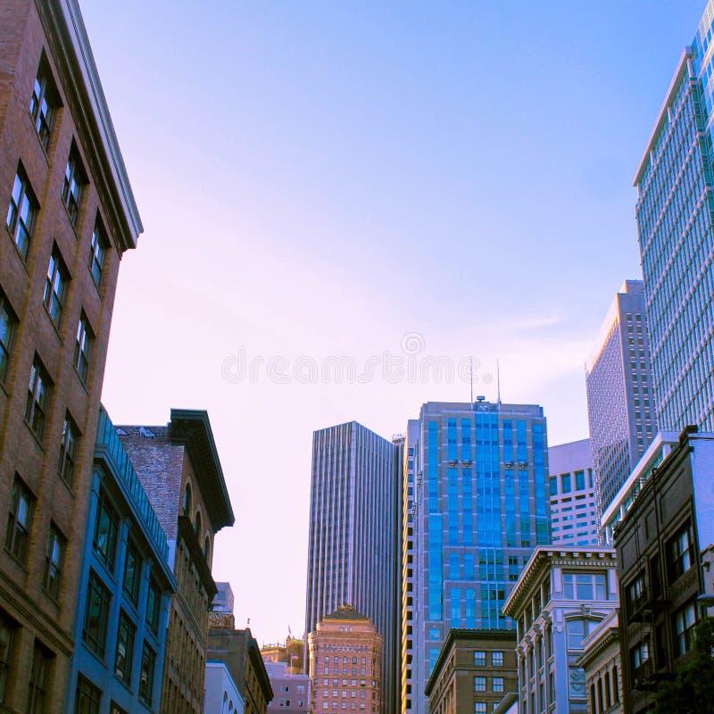 Construções de San Francisco fotografia de stock royalty free