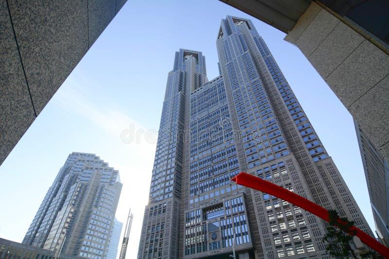 Construções do governo no Tóquio do centro, Japão fotografia de stock