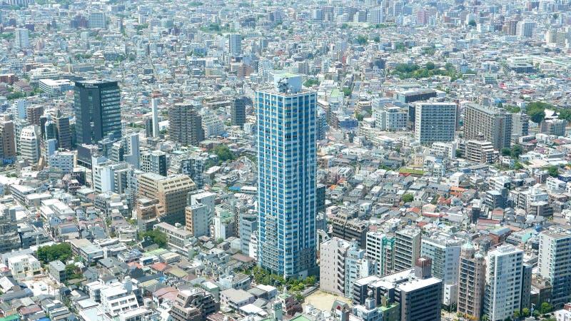 Construções do Tóquio de Japão imagem de stock