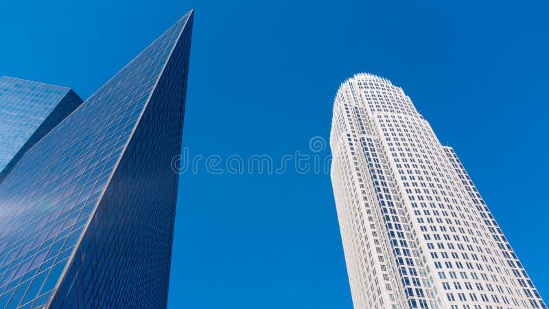 Construções em Charlotte, NC foto de stock royalty free
