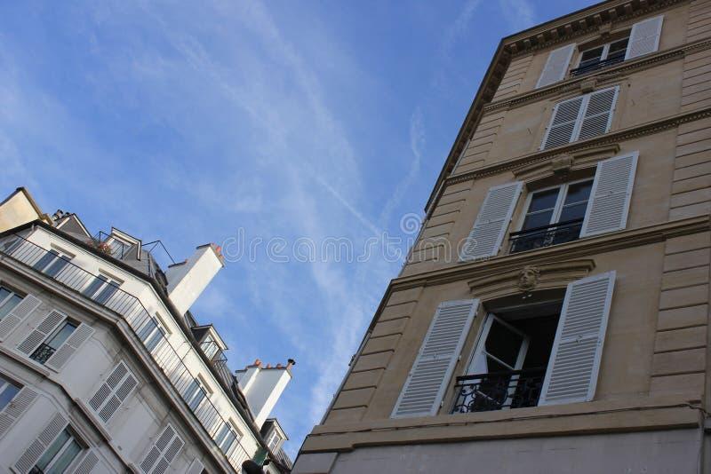 Construções em Paris imagem de stock royalty free