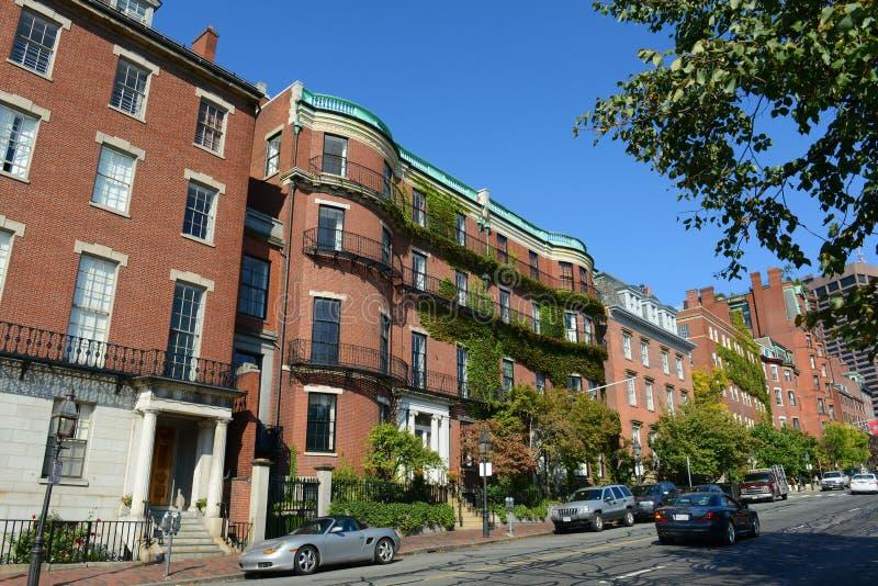 Construções históricas de Boston, Massachusetts, EUA imagens de stock